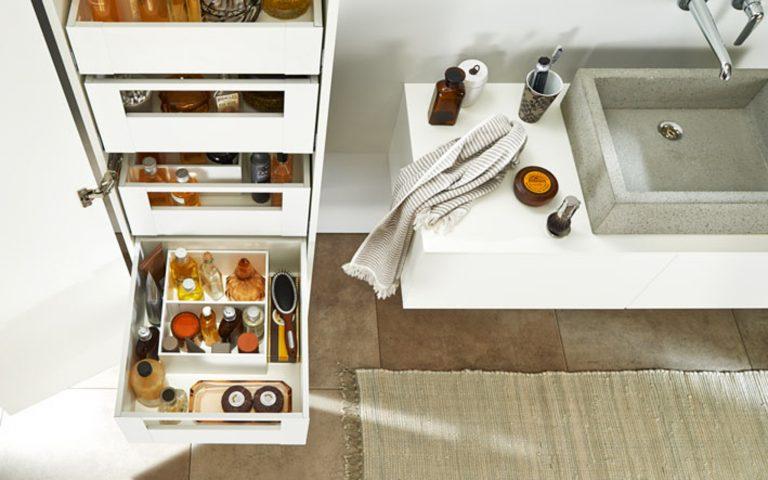 OrgaNiced Lade-indelingen badkamer