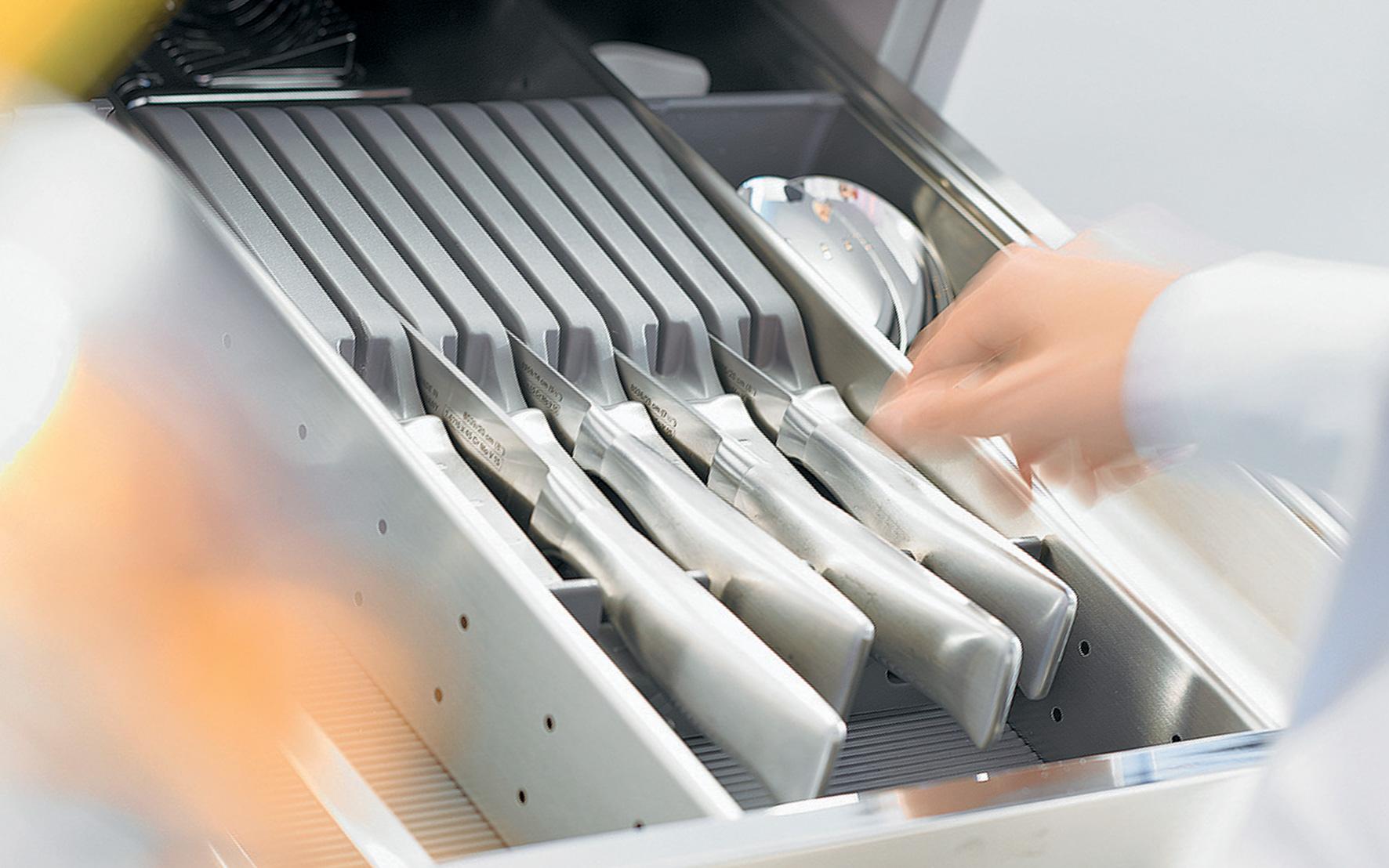 OrgaNiced Lade-indelingen Messenblok